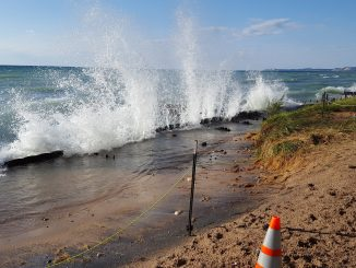 Photo Credit:  Camp Arcadia Beach Erosion Website