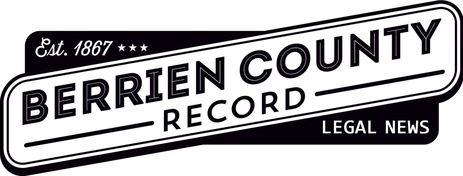 Berrien County Record Legal News
